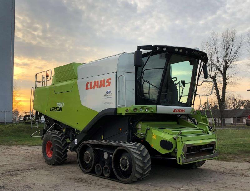 Lexion 760TT